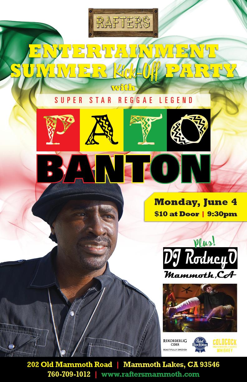 Rafters Pato Banton 11x17 0518_FINAL2